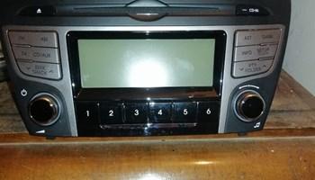 Autoradio cd,mp3,bluetooth hunday ix35