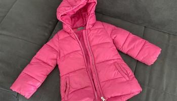 Zimska jakna Benetton za djevojčicu, vel.2