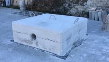 Betonski blok za sidrenje broda 2000 kg / Gajac / Novalja