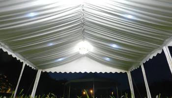 Najam šatora, suncobrana, frižidera, stolova, bešteka, čaša i tanjura