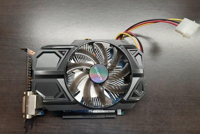 Gigabite GTX 750 2GB