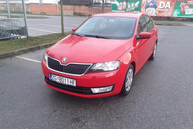 Škoda Rapid 1.6 TDI iz 2014.godine!