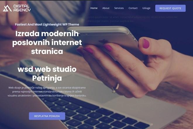 Izrada Internet stranica. / Izrada web stranica. / Web dizajn. / Izrada modernih poslovnih internet stranica.