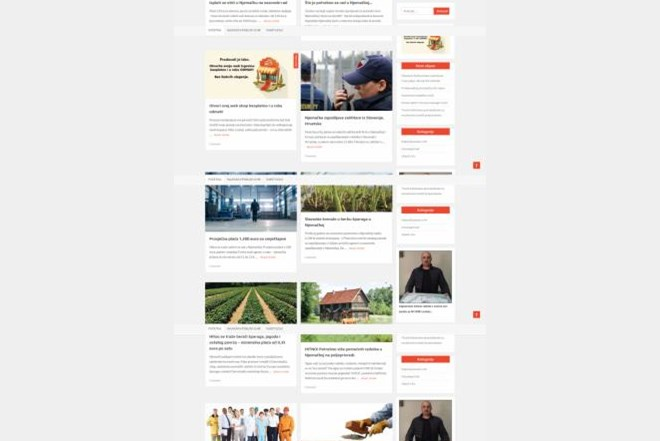 Web stranica sa mogućom zaradom
