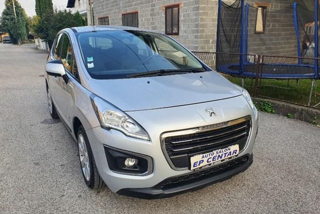 Peugeot 3008 Peugeot 3008 1.6 BlueHdi, 120ks, Facelift